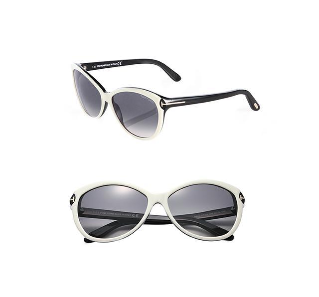 Tom Ford Eyewear Telma Oversized Sunglasses