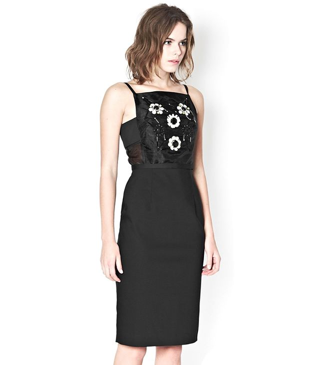French Connection Satellite Jewel Strappy Dress