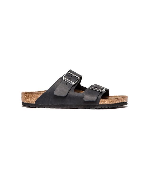 Birkenstock Arizona Oiled Black Sandals