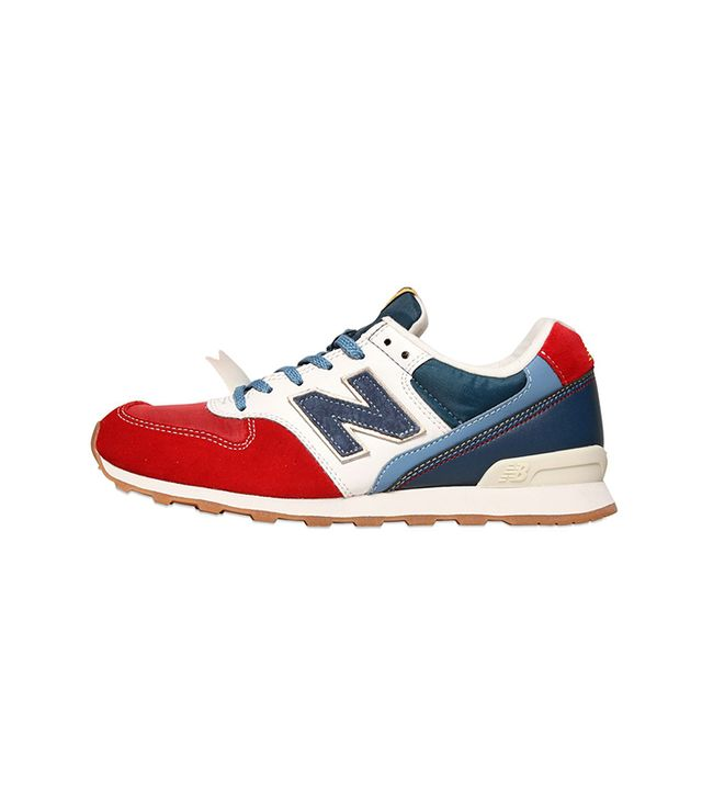 New Balance Suede Nylon Sneakers
