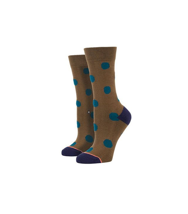 Stance Lottie Olive Socks