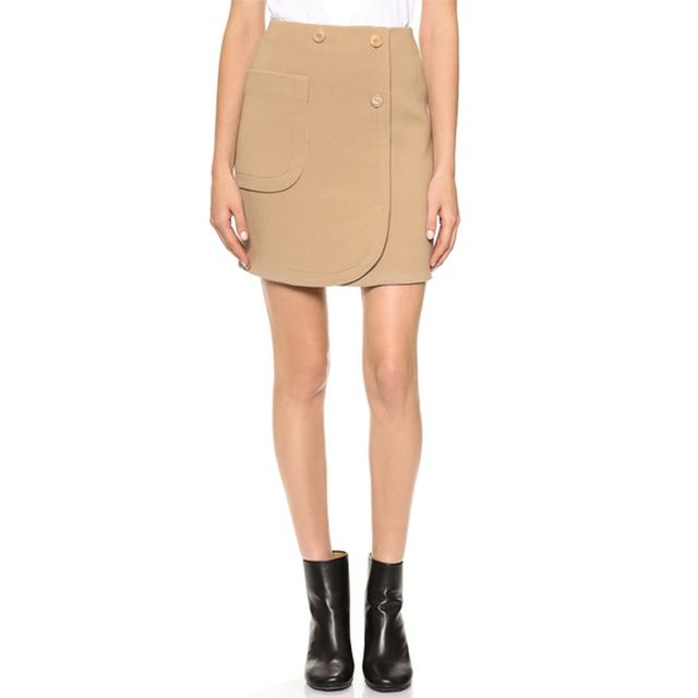 Carven Crepe Skirt