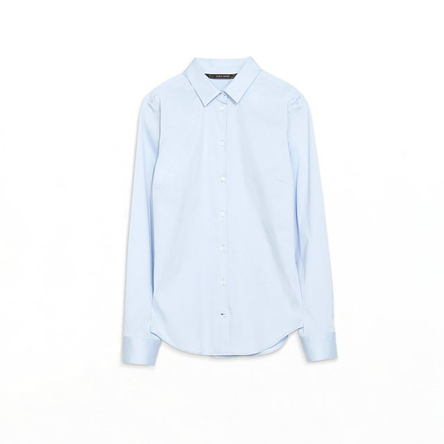 Zara Basic Poplin Shirt