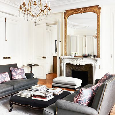 Tour a Feminine Parisian Dream Home