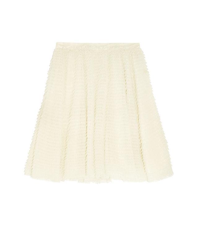 REDValentino Ruffled Tulle Skirt