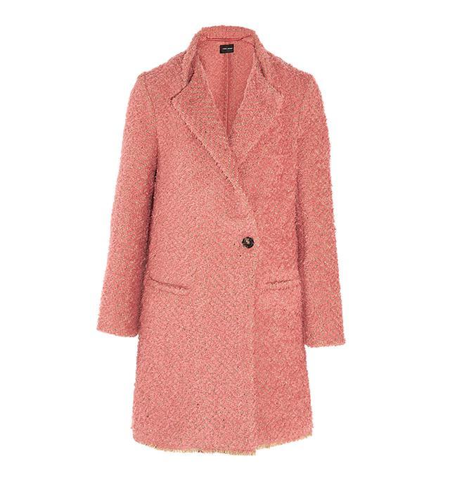 Isabel Marant Gloria Herringbone Bouclé Coat