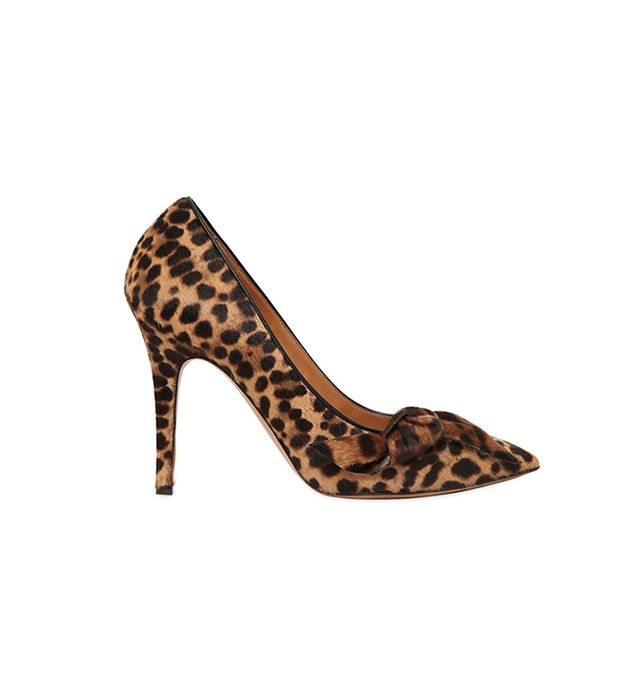 Isabel Marant 100MM Poppy Leopard Print Ponyskin Pumps
