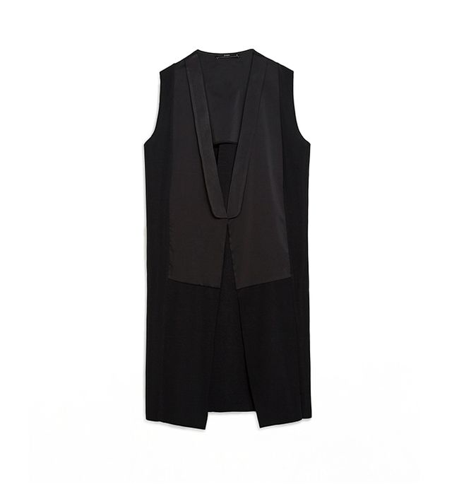 Zara Long Combined Waistcoat