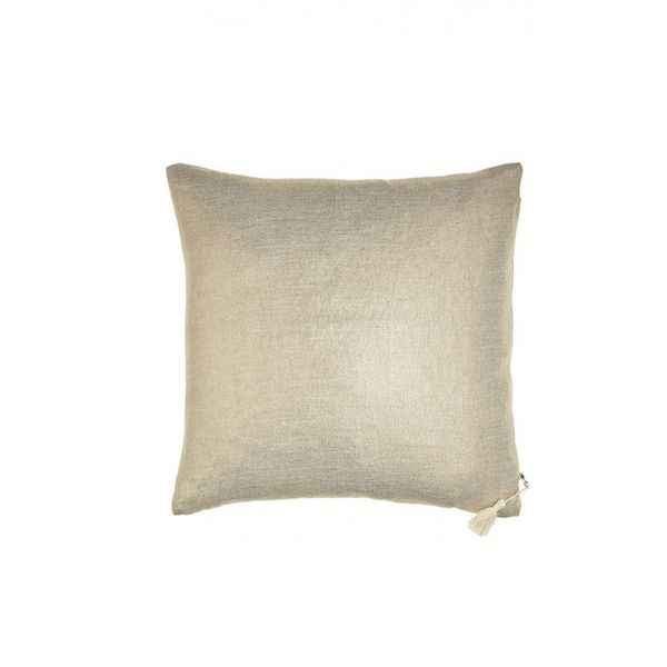 Hedge House Gold Metallic Throw Pillow