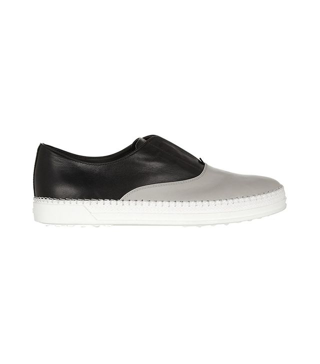 Tod's Two-Tone Leather Sneakers