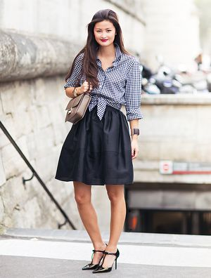 Tip Of The Day: Girly In Gingham