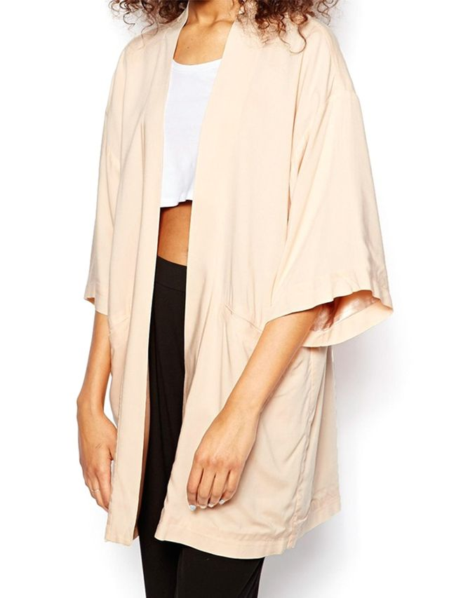 Monki Oversized Kimono Jacket