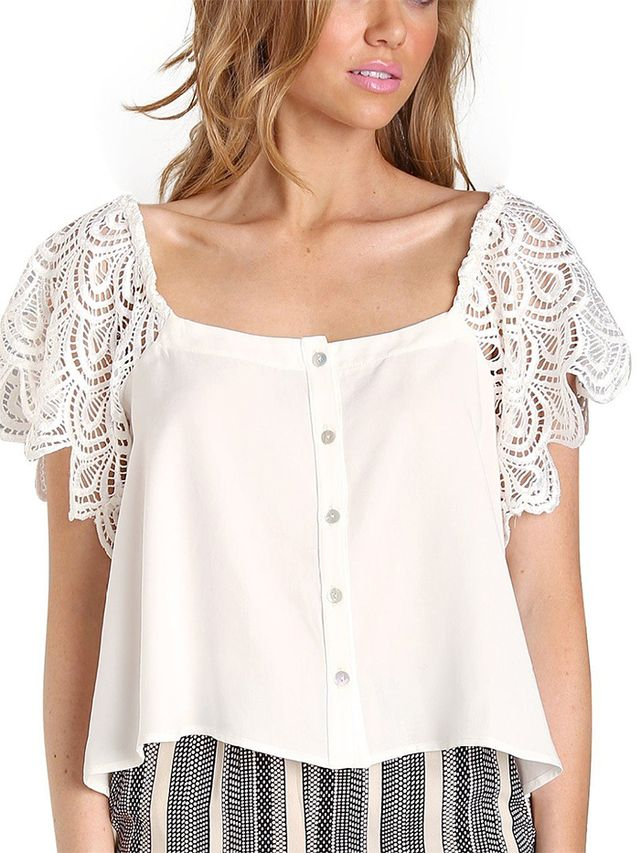 Stone Cold Fox San Jose Blouse