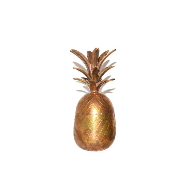 Etsy Vintage Brass Pineapple Box Set