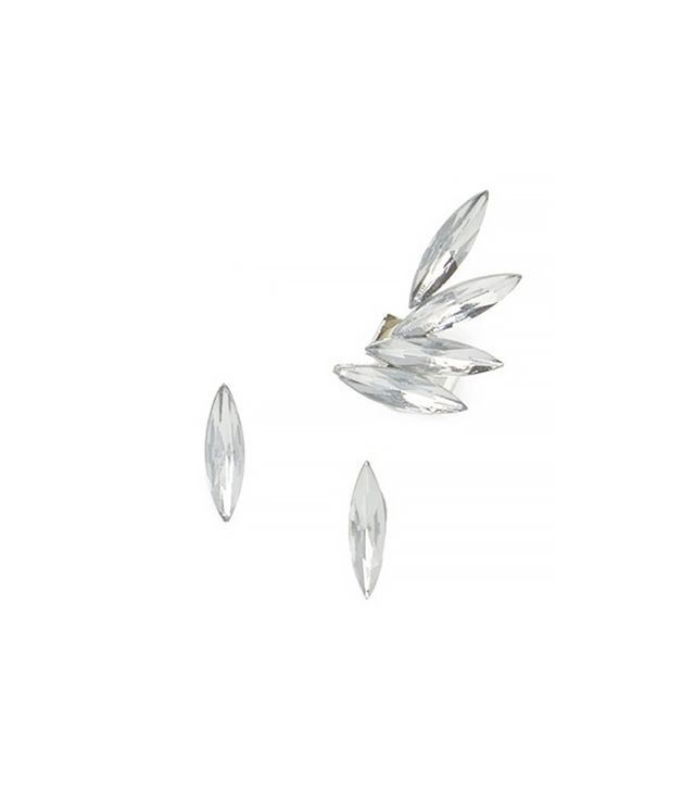 Jeweliq Crystal Blades Ear Cuff Set