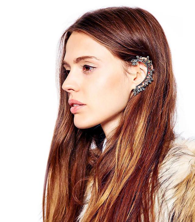 ASOS Leaf Vine Ear Cuff