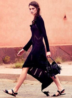 11 Black Summer Looks From Gioia Magazine