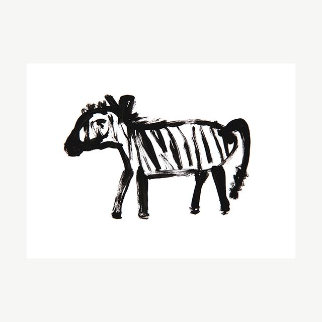 Made By Girl Zebra Abstract