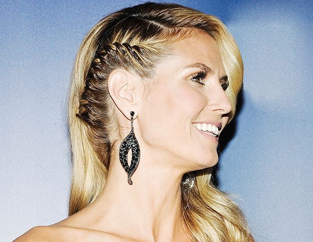 Heidi Klum Rocks A Bad Arse Braid (Plus More Celeb Beauty!)
