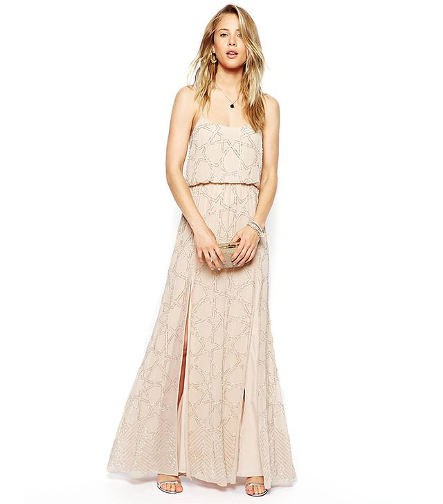 Needle and Thread Constellation Maxi Dress