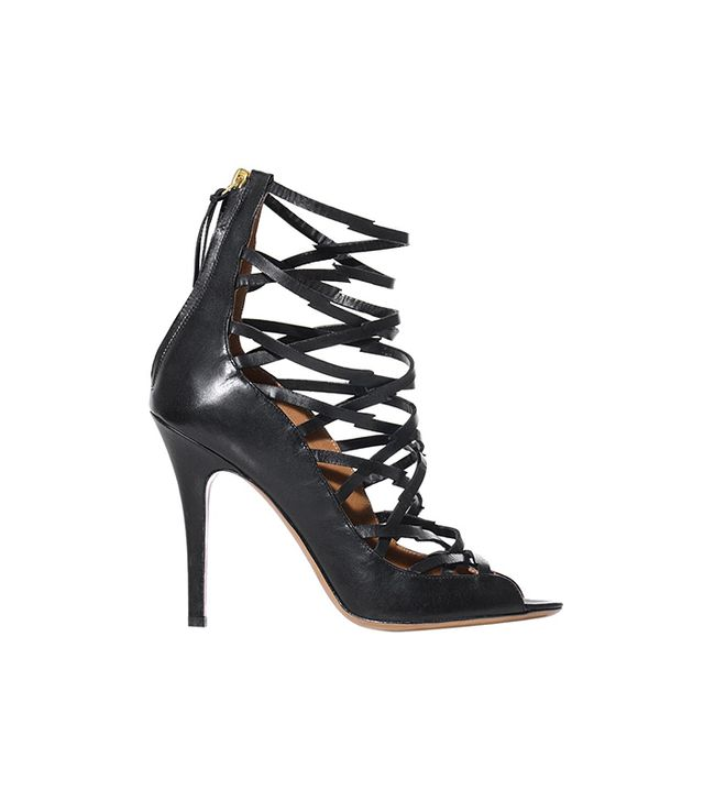 Isabel Marant Paw Strappy Heeled Sandals