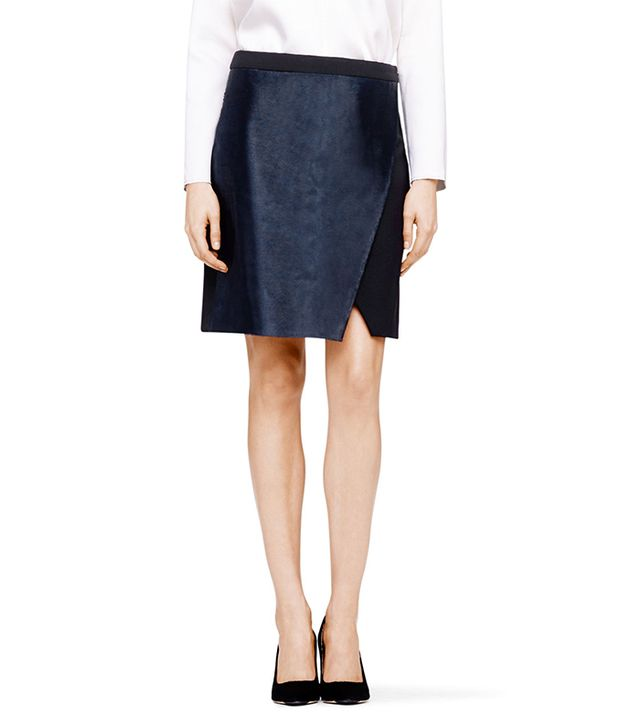 Club Monaco Danton Calf Hair Skirt