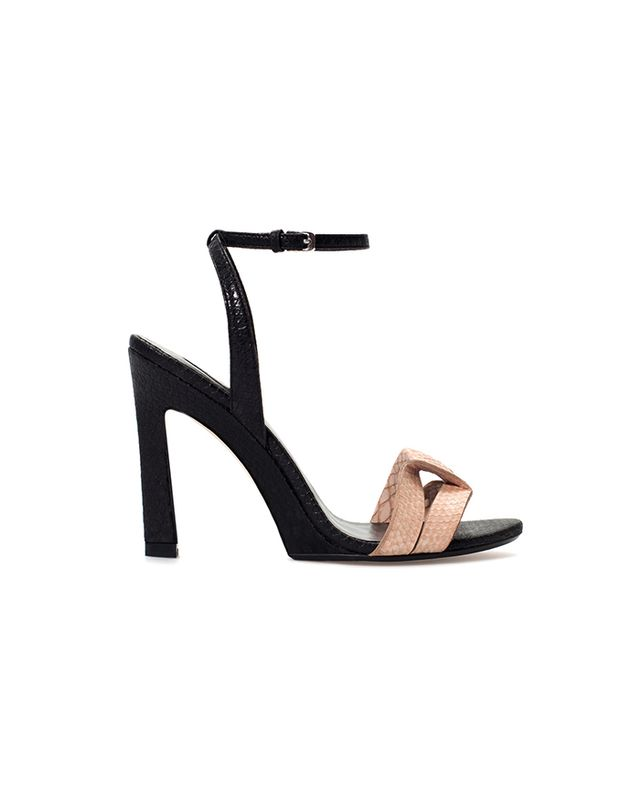 Zara High-Heeled Sandals