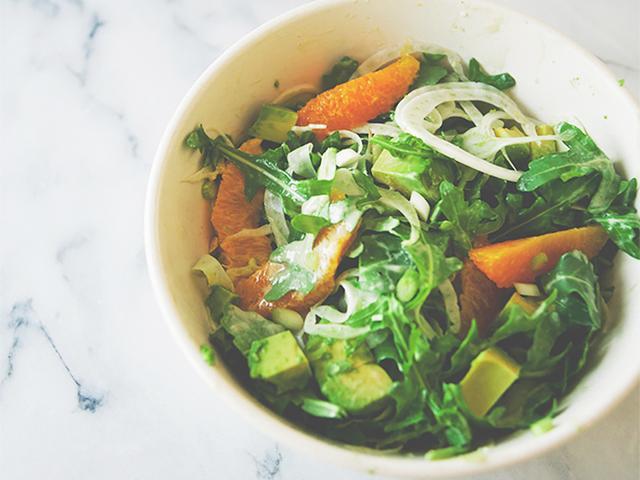 Tahini Citrus Salad