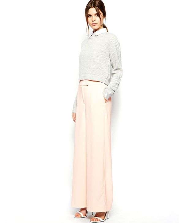 ASOS Soft Wide-Leg Pants