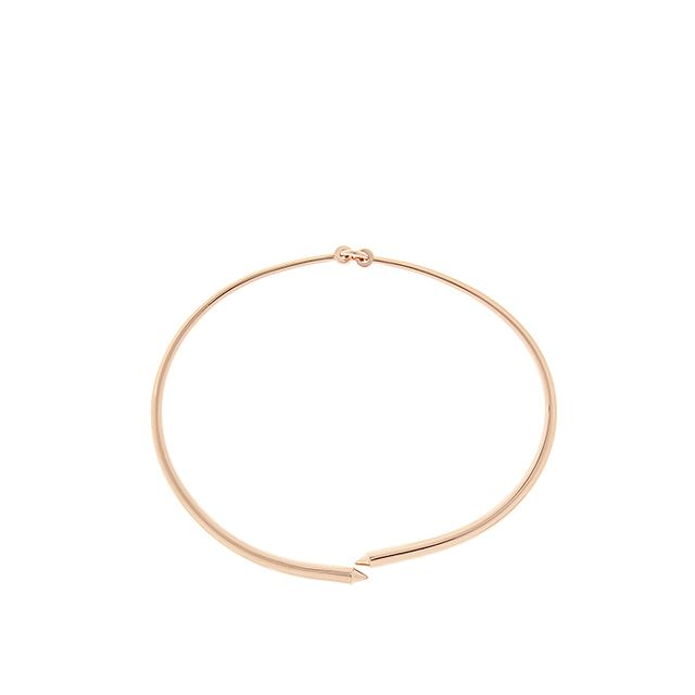 Eddie Borgo Bicone Rose Gold-Plated Choker