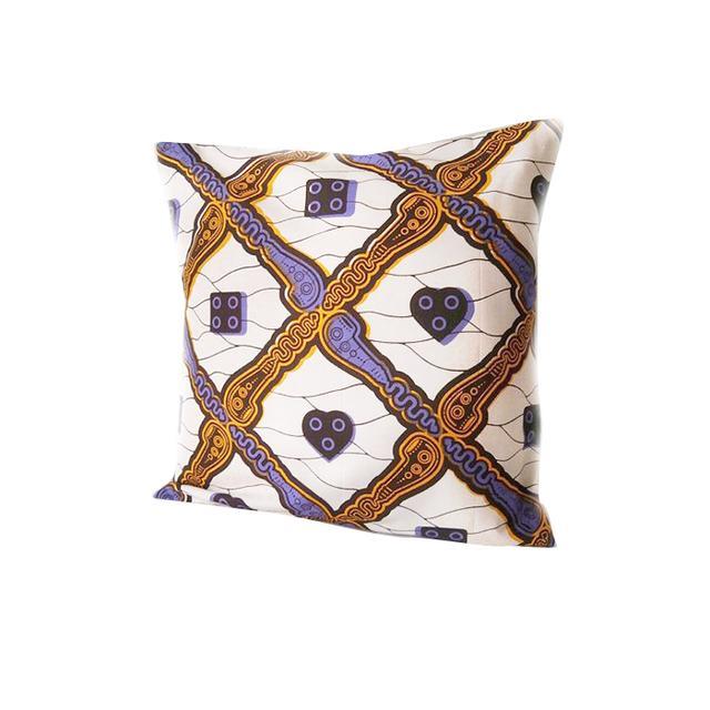 The Lucky Fox African Print Pillow