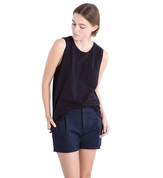 Everlane The Muscle Tank in Black