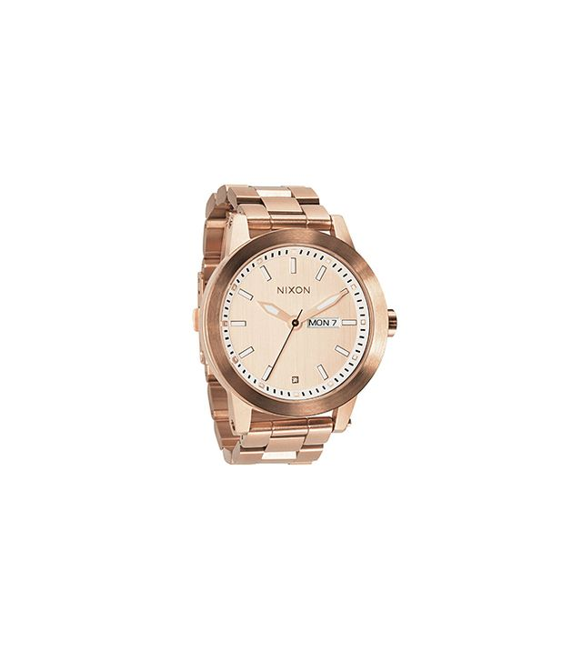 Nixon Spur Rose Goldtone Stainless Steel Watch