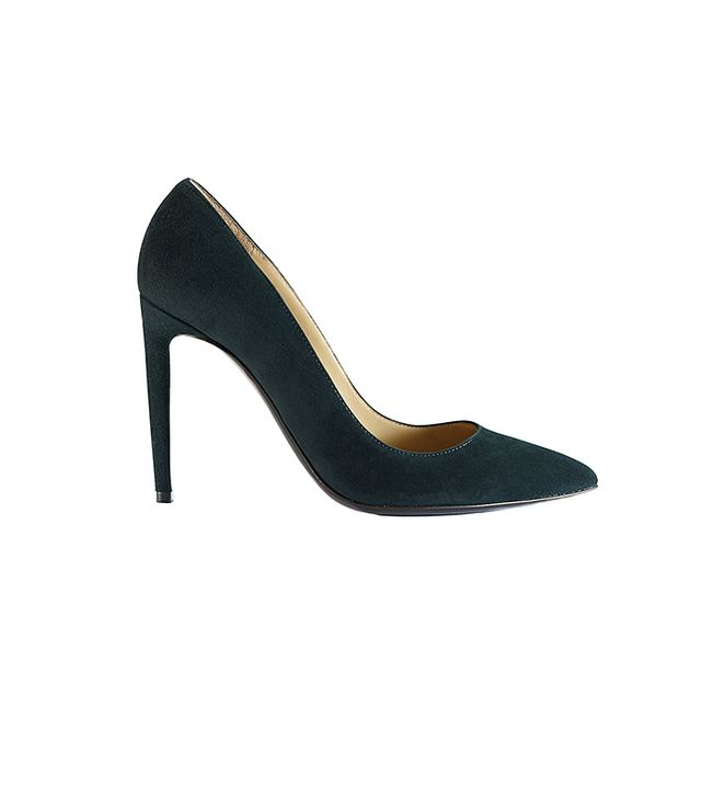 Ralph Lauren Collection Suede Celia Pumps