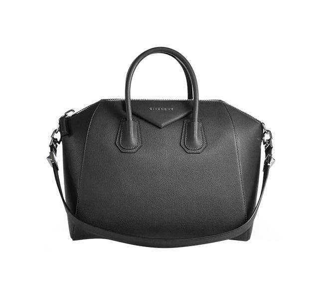 Givenchy Antigona Medium Top-Handle Satchel in Black