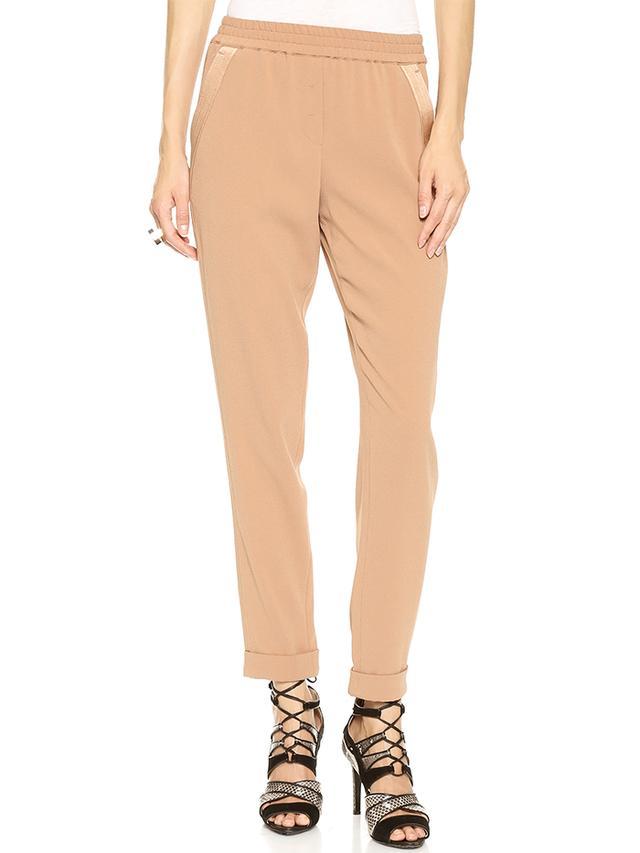 DKNY Crepe Pants in Toffee
