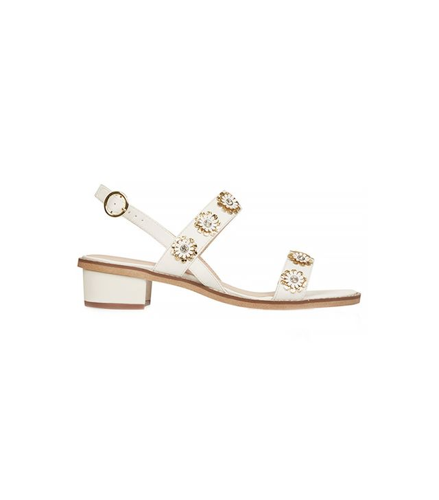 Topshop Honeymoon Flower Sandals