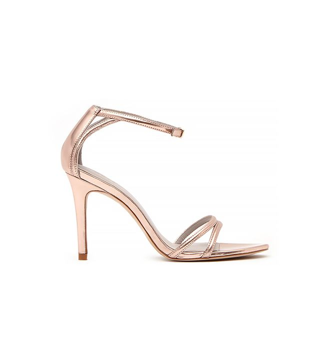 Reiss Peony Double Strap Sandals
