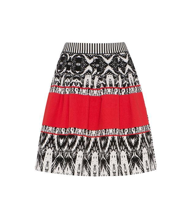 Cue Printed Skirt