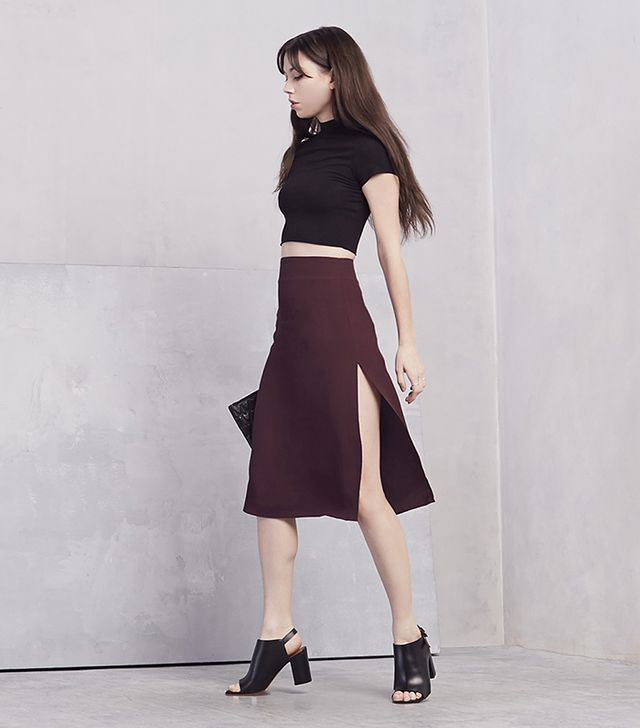 The Reformation Empress Skirt