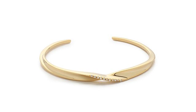 Tai Twist Bracelet in Gold