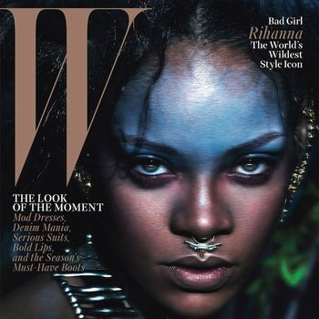 Rihanna's Fierce Spread For W Magazine