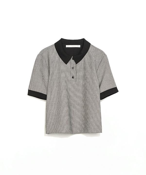 Zara Contrast Polo Shirt