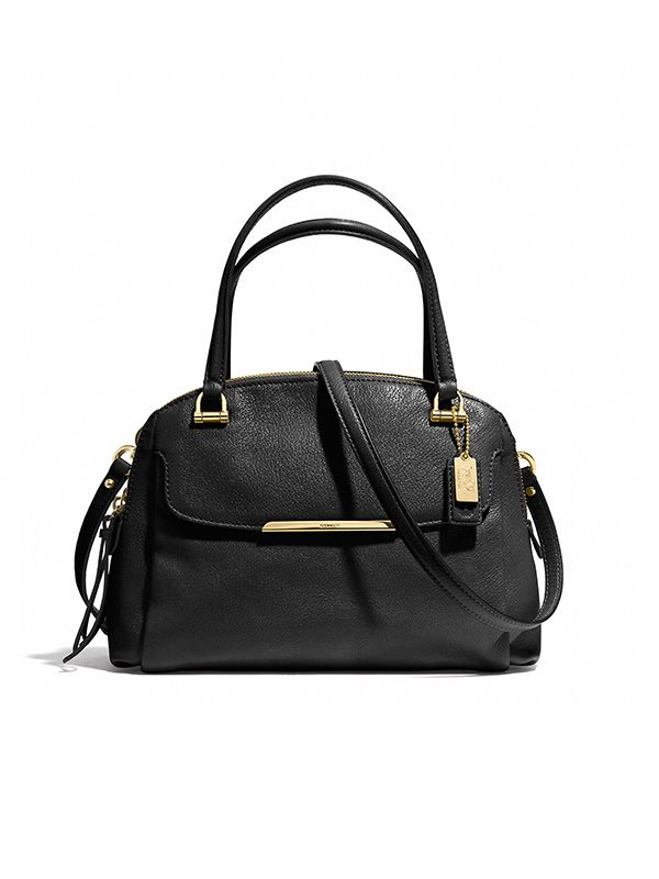 Coach Madison Small Georgie Satchel in Leather