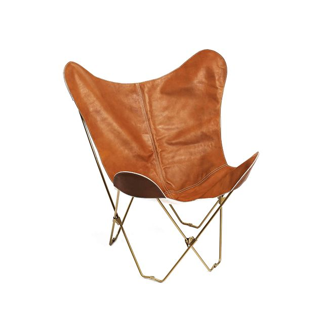 Urban Outfitters Leather Butterfly Chair Cover