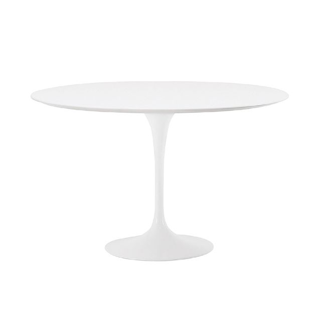 Hive Modern Saarinen White Laminate Dining Table