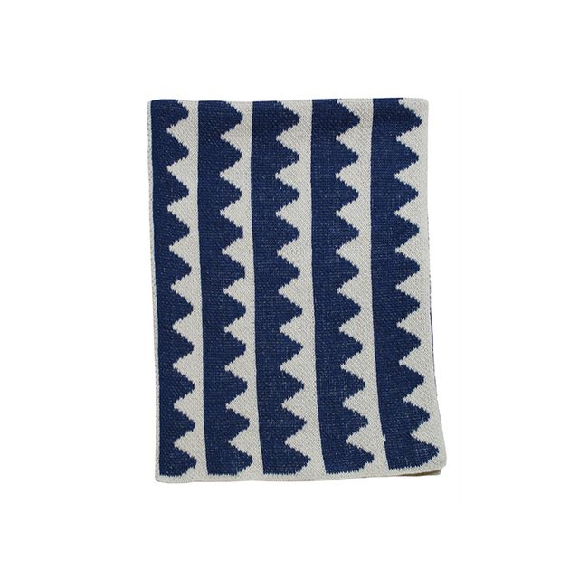 Karrie Kaneda Mountain Stripes Mini Blanket
