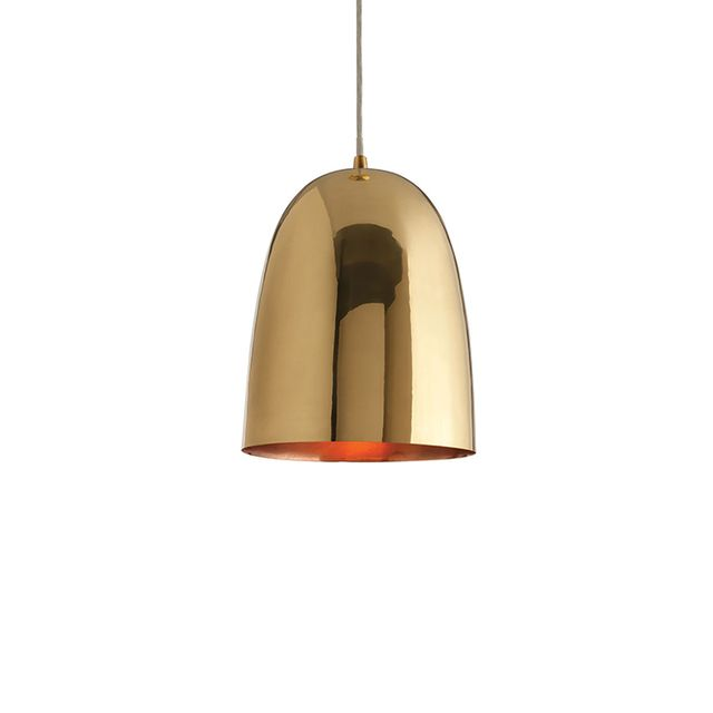 DwellStudio Brass Dome Large Pendant