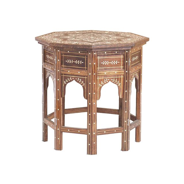 Wisteria Moroccan Drum Table