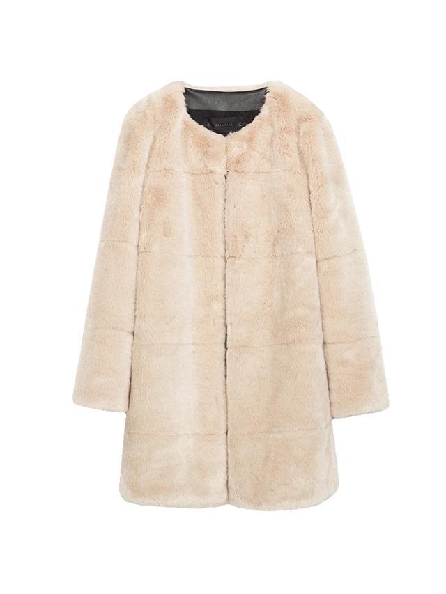Zara Furry Coat
